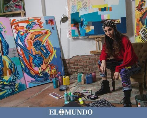 Lara Padilla (Sra. D.), feminismo en movimiento y arte para llevar