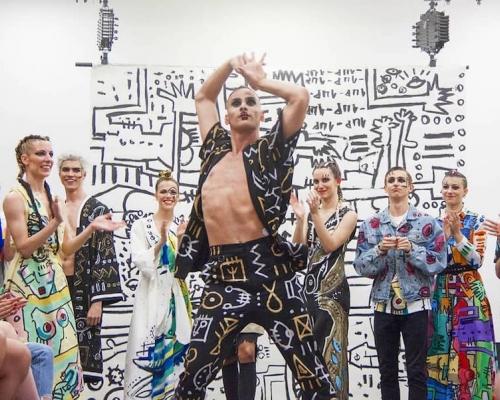 Exposición y Fashion Show en Art Valley Madrid 2018